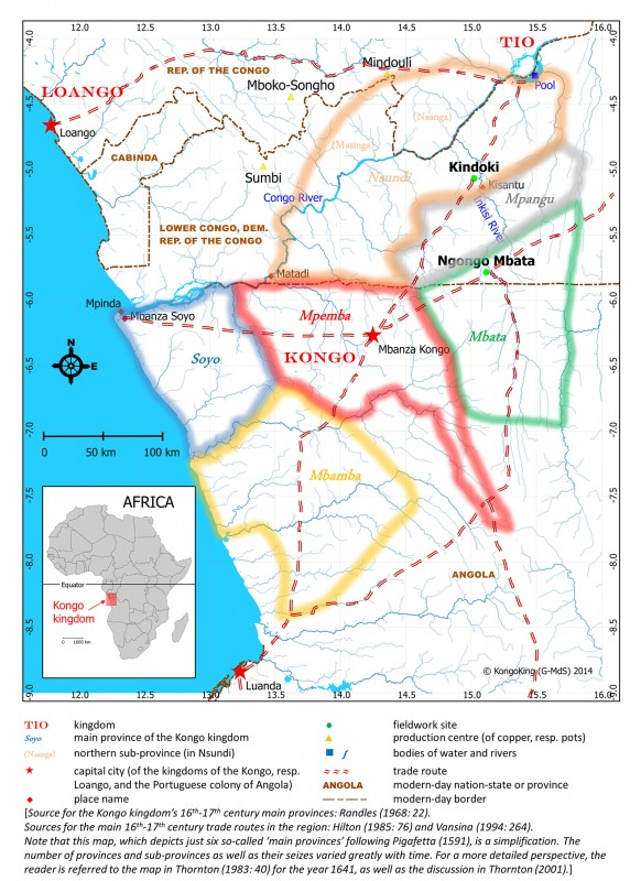 Archaeological research on the Kongo kingdom in the Lower Congo ...
