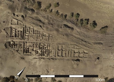 Figure 2. The Egyptian fortress on Uronarti.