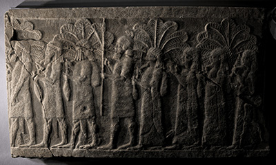 Figure 6. Video of the reflectance transformation imaging model of a relief from the north palace of Ashurbanipal, with the light source moving from left to right, then from top to bottom (© Li Sou).